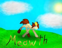 MLP x Meowth by pokemon-fireevee