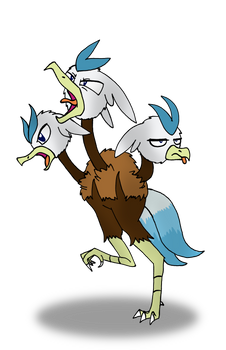 Silver Quill as a Dodrio.