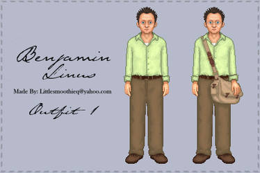 Ben Outfit 1 - Island Wear by susiesan