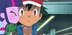 Twilight kissed Ash