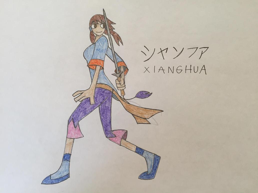 Soul Calibur: XIANGHUA by DarienSpeyer on DeviantArt