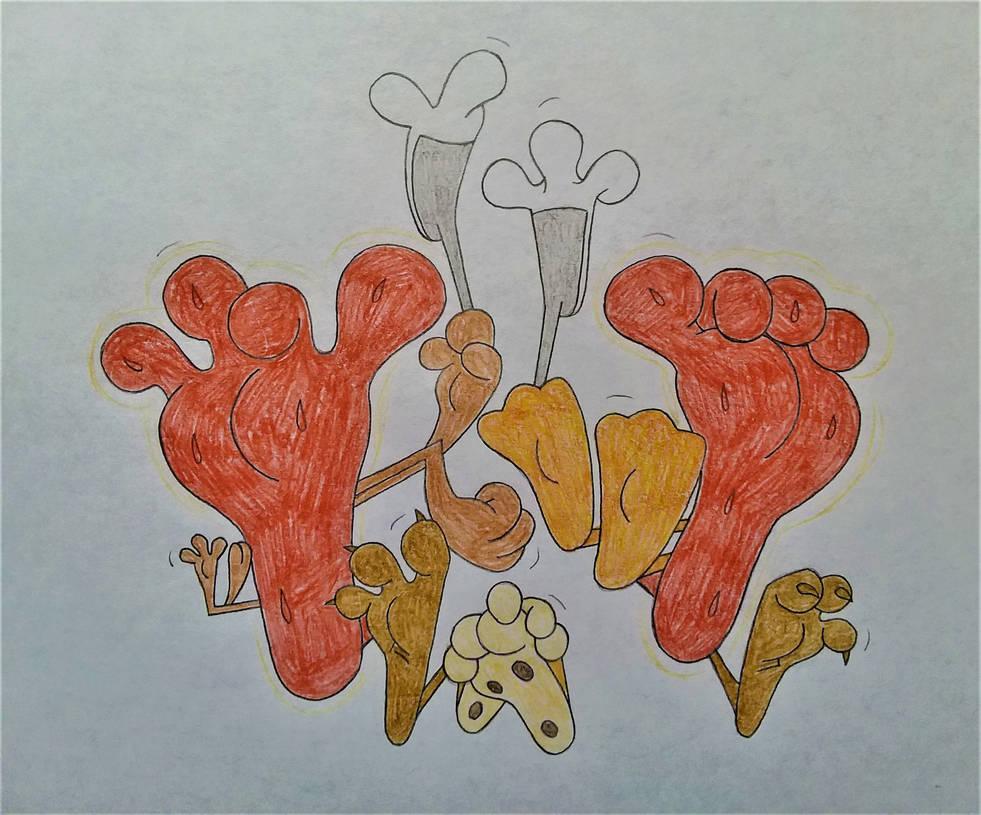 Darienspeyer Feet: Sexiest Feet Groups: Looney Tunes By DarienSpeyer On