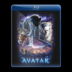 Avatar Blu Ray icon by Mazaar