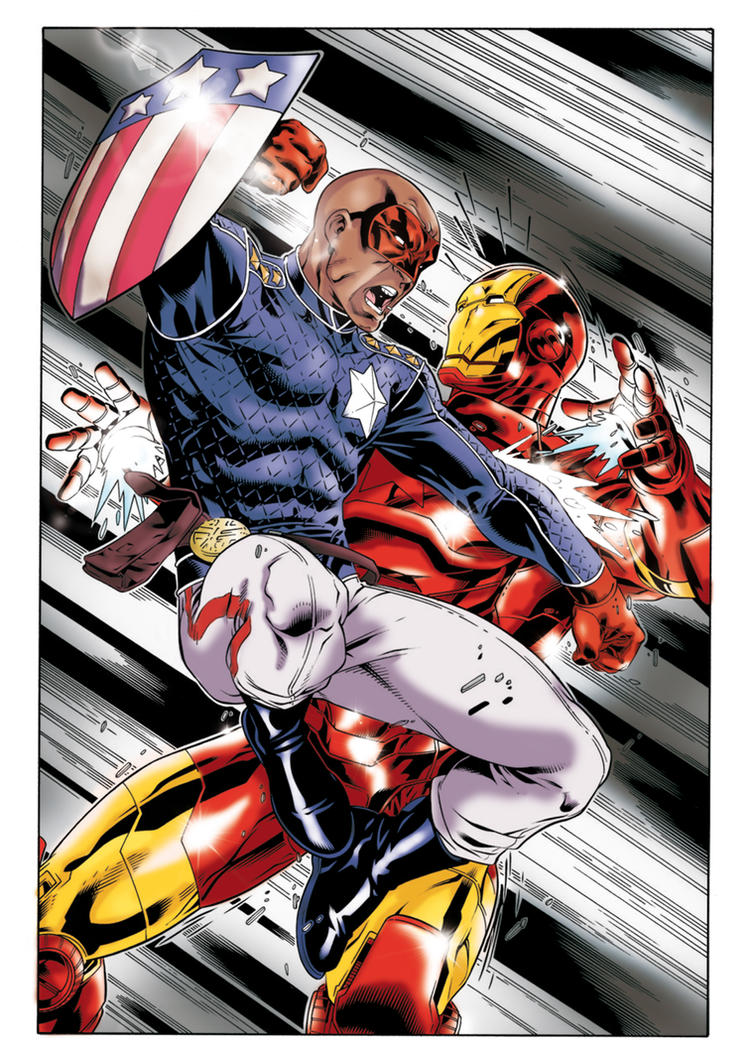 Patriot vs iron man by Kiara-kitsu on DeviantArt