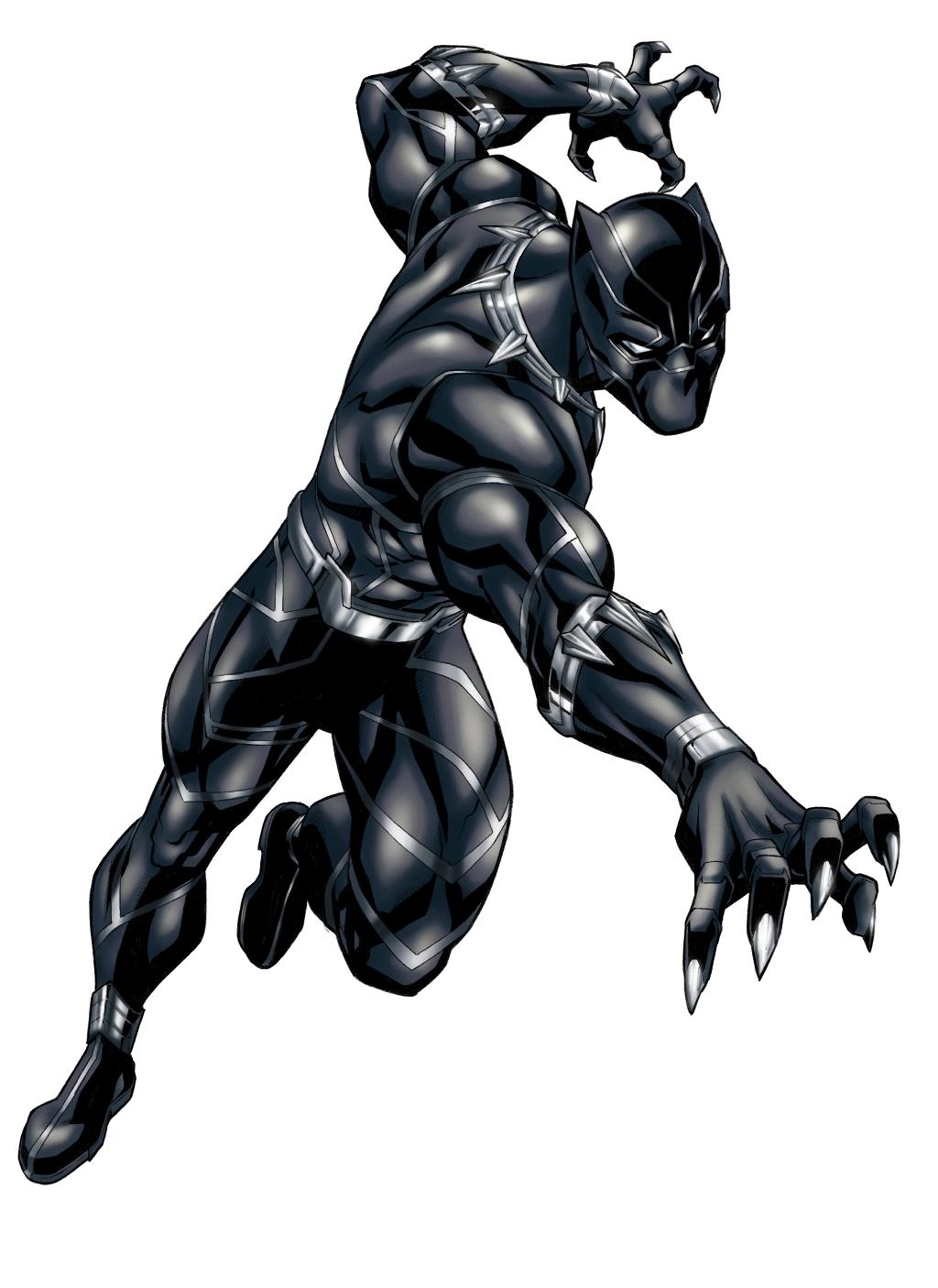 Black Panther by Kiara-kitsu