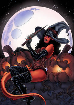 Hallow's End Witch