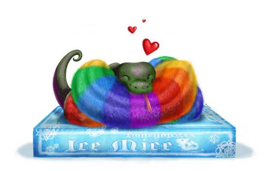 Jax The rainbow caterpillar
