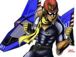 Blue Falcon,Captain Falcon.(Smash Bros.)