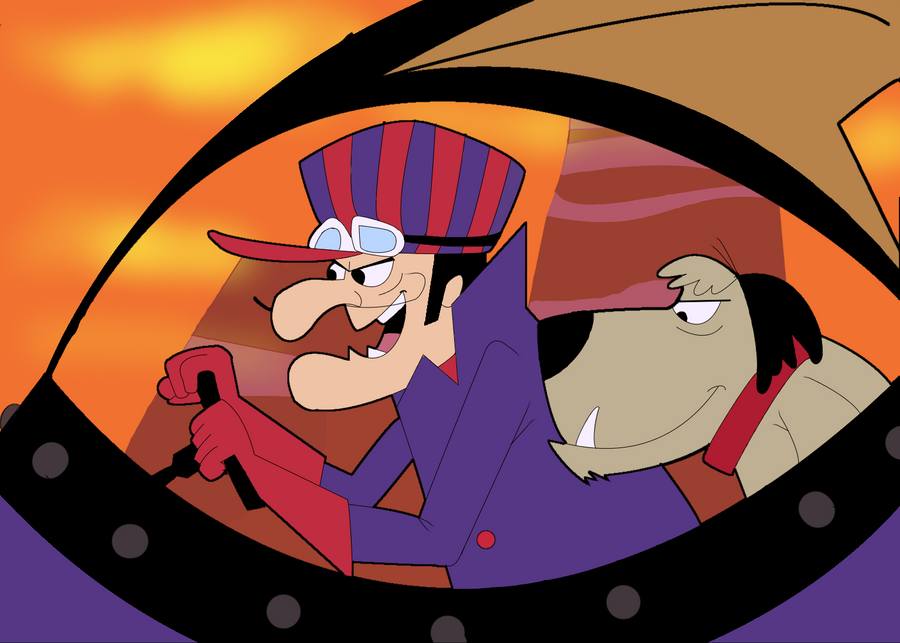 Mi galeria de fan arts (si el nombre mas original que allan leido) Dick_dastardly_and_muttley_by_akanague-d4dnedq