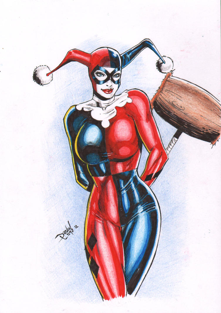 Harley Quinn by DLimaArt