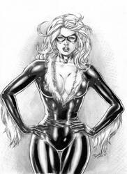 Black Cat by DLimaArt
