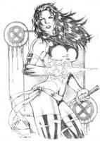 Psylocke by DLimaArt