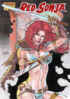 Red Sonja by DLimaArt