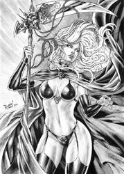 Lady Death by DLimaArt