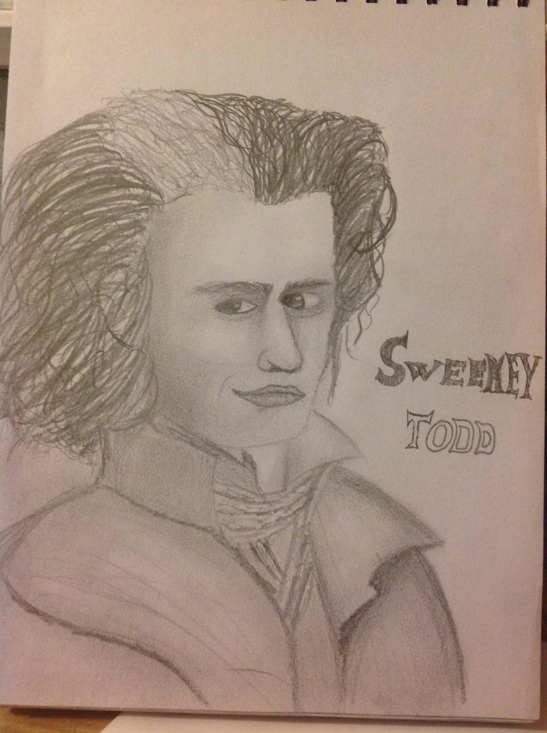Sweeney todd by Jessie123452bee