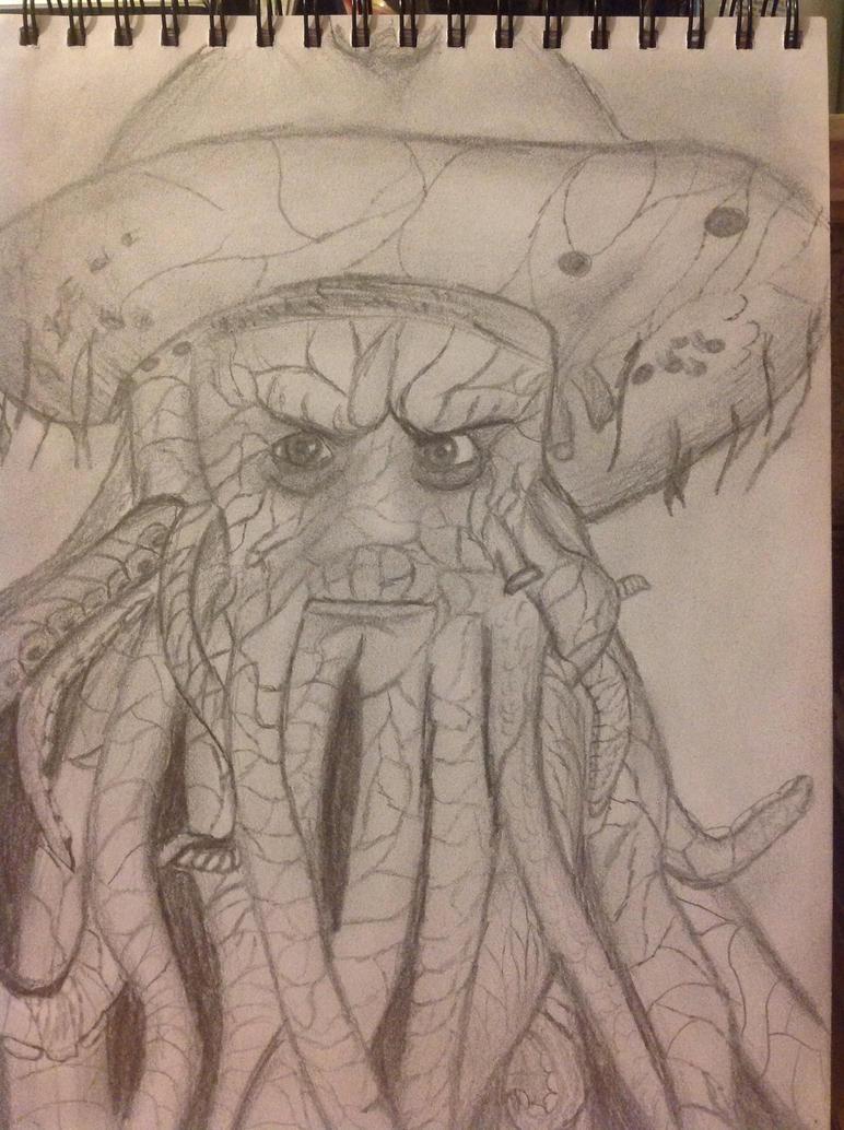Davy Jones by Jessie123452bee