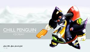 Megaman X Chill Penguin