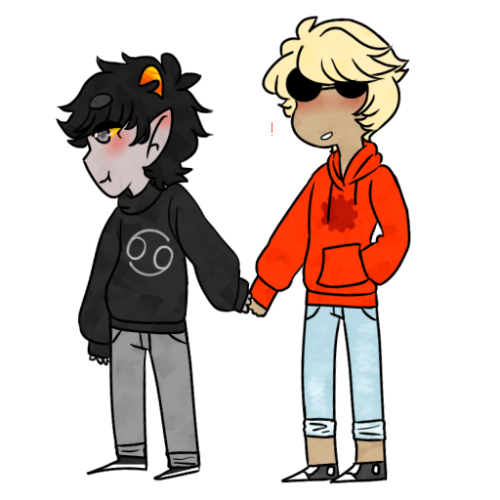 Dave Stridoop And Karkat Vantass by cloudkit25