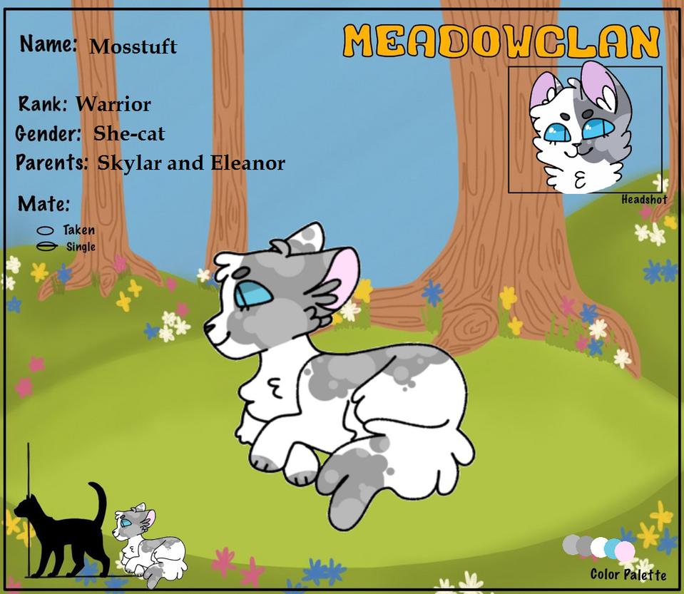 Mosstuft| Meadowclan by cloudkit25