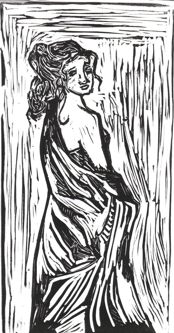 lady in black by jennifaah