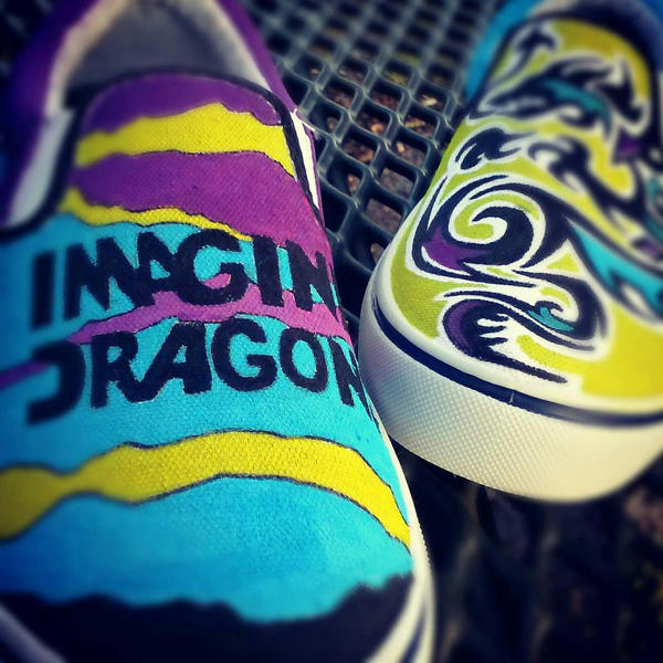 Download Next To Me Imagine Dragon Wapka: Custom Imagine Dragons Shoes (BAMFS) By Pyropete03 On