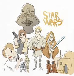 My Star Wars by joexo