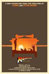 Raiders 'Ark' Poster by joexo