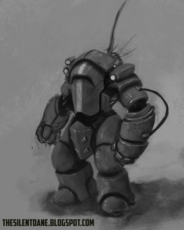 Mech Design by TheSilentDane