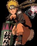 Naruto render_run