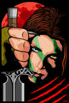 Aela the Huntress by Velmozha