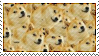 Much Doge. Very Stamp. by stampsnstuff