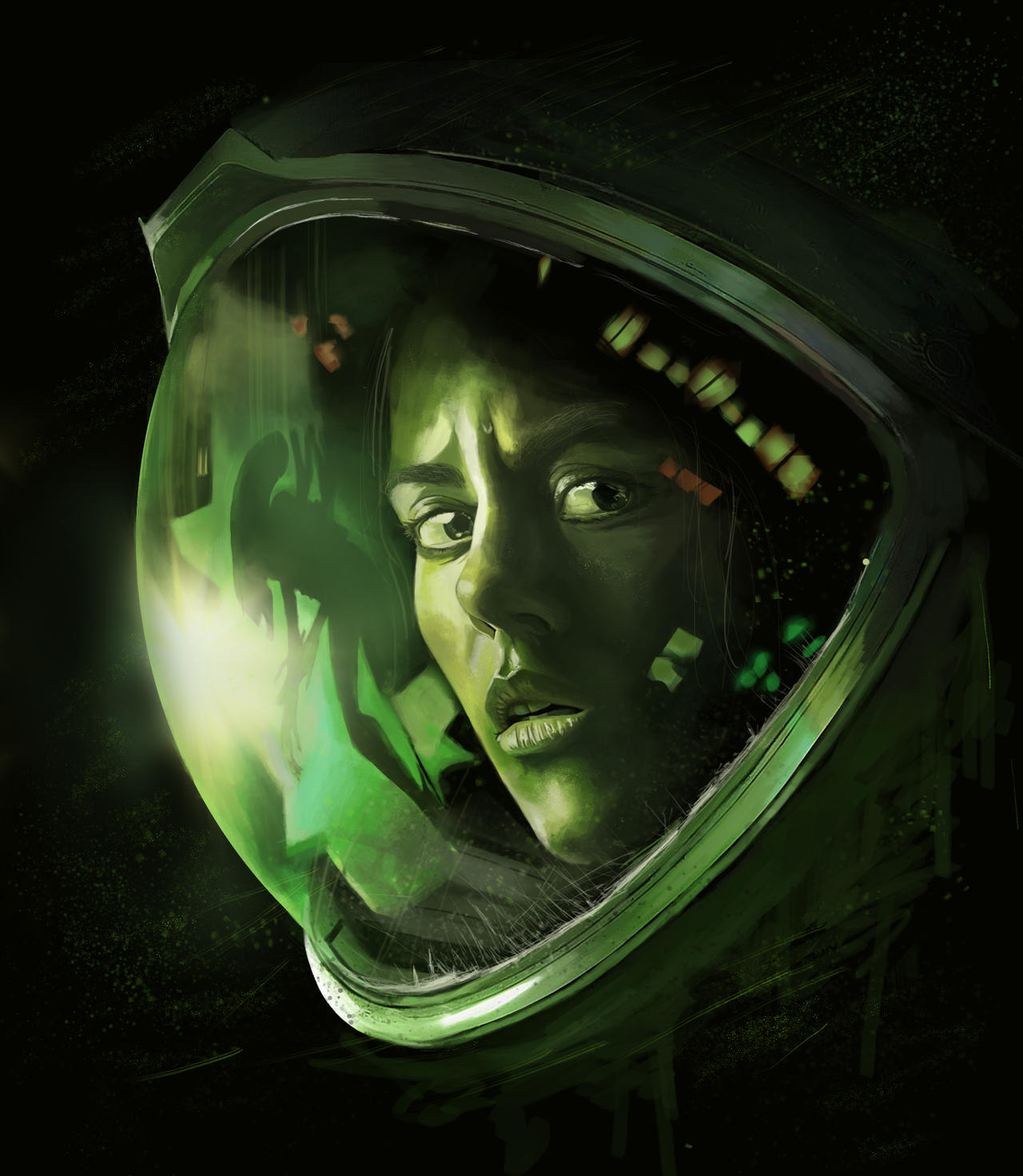 Sci-Fi Terror Movie Aliens Isolation Amanda Ripley