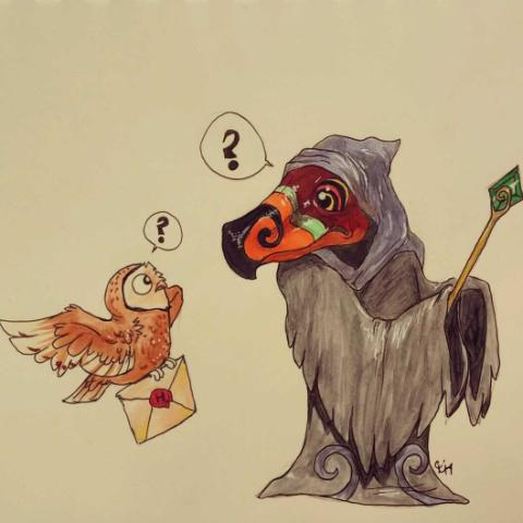 Yer a Wizzrobe, Harry. by HyruleUnicorn