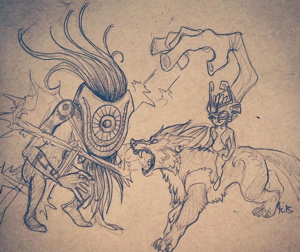 Shadow Beast by HyruleUnicorn