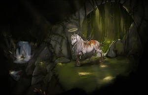 Wandering light by Yewrezz