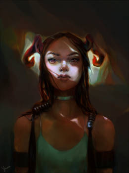 Some demon girl