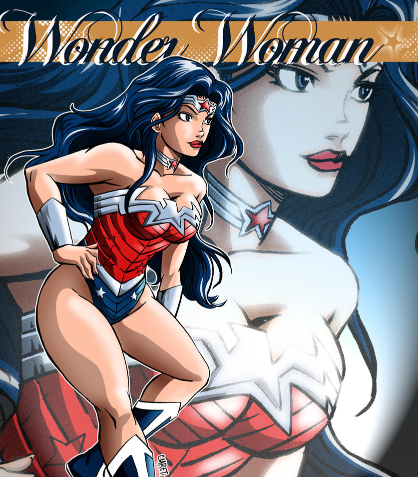 Wonder Woman 4 Everyone by Claret821021