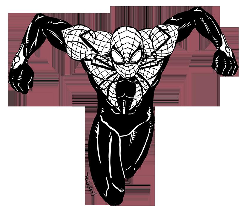 Superior Spider Man Lineart By Claret821021 On Deviantart