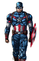 Captain America AoU by Claret821021