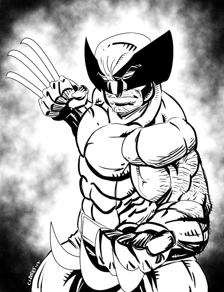 The Wolverine by Claret821021