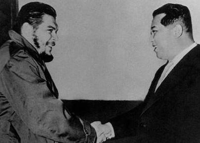 Risultati immagini per Kim Il Sung Ernesto Guevara