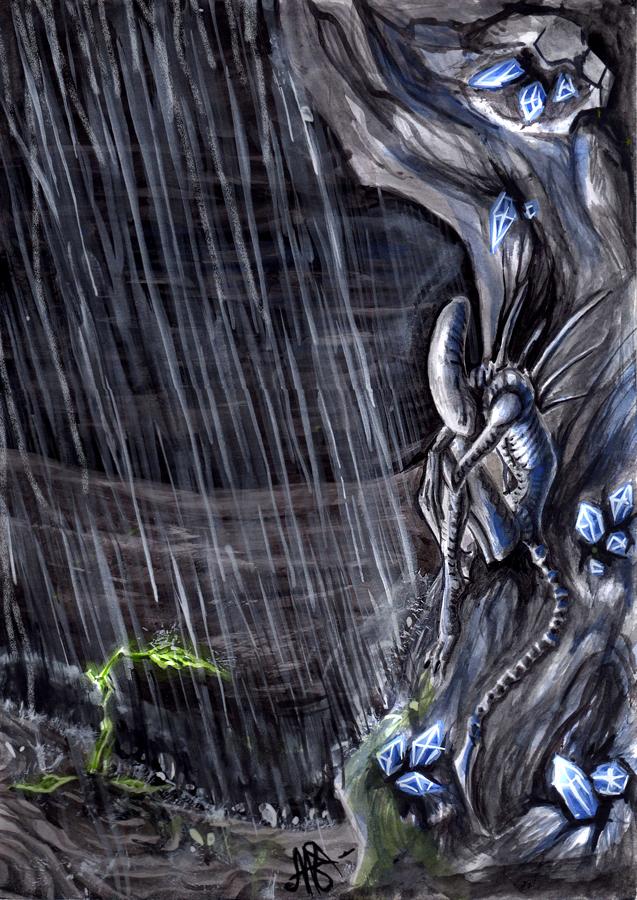 Alien by FoxSagebrush
