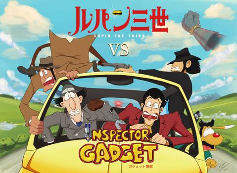 Lupin III VS Inspector Gadget