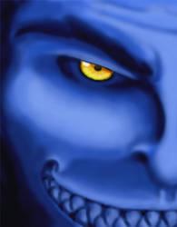 Cruel Blue by jeepie