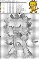 Cross stitch pattern: Kon by littlemojo
