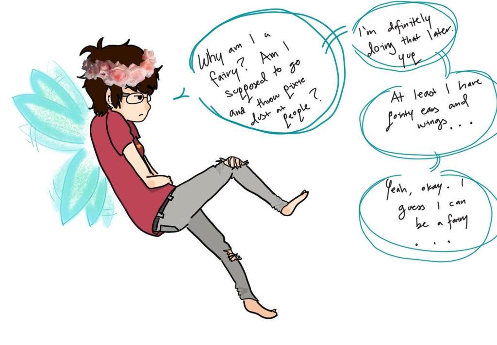 I'm a Fairy..? by 6taquitos