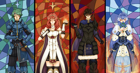 FE15 - Echoes Trapped in Stained Glass