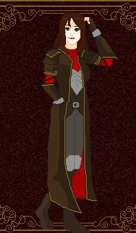 Pixel Card - Inquisitor Corinne Trevelyan by CommandersKeeper
