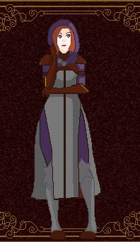 Pixel Card - Spymaster Leliana by CommandersKeeper