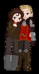 [Pixel] Cullen x Corinne by CommandersKeeper